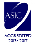 Accredited by ASIC